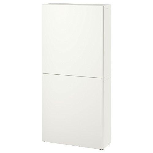 Zigzag Trading Ltd IKEA BESTA - Armario de Pared con 2 Puertas Lappviken Blanco