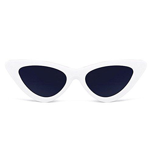 attachmenttou Round unisexe Femmes Hommes Retro Vintage Cat Eye lunettes de mode Lunettes de soleil New AU