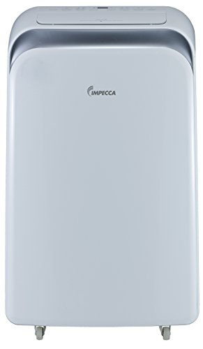 Impecca 12,000 BTU Heat & Cool Portable Air Conditioner with Electronic Controls, h