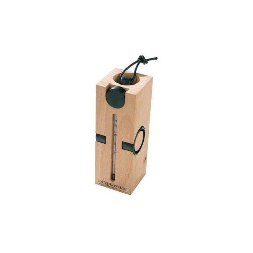 L'atelier du vin - Coffret tire-bouchon, thermomètre, 2 Gard'gouttes