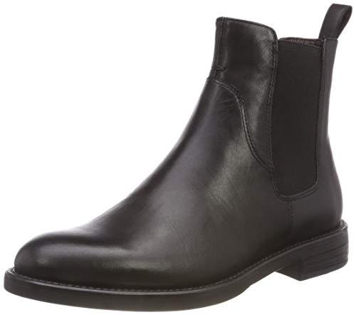 Vagabond Damen Amina Chelsea Boots, Schwarz (20 Black), 41 EU