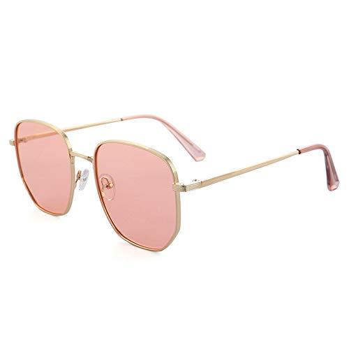 WWDKF Gafas De Sol Hombre, Gafas De Sol Polarizadas TAC De Montura Grande, Bloqueo Eficaz del Deslumbramiento, Visión Clara, Protección UV, Colores Verdaderos,A