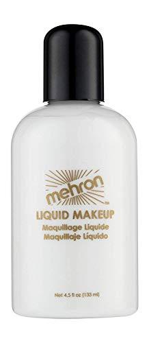 Mehron Liquid Face Paints - White W (4.5 oz) by Mehron [Toy]