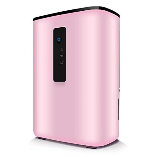 YLG dehumidifier Rosa Haushalts Leiser Luftentfeuchter, 2l Wassertank Schlafzimmer Wohnzimmer Mini Luftentfeuchter Feuchtigkeitsabsorber Entfeuchtung Trockner