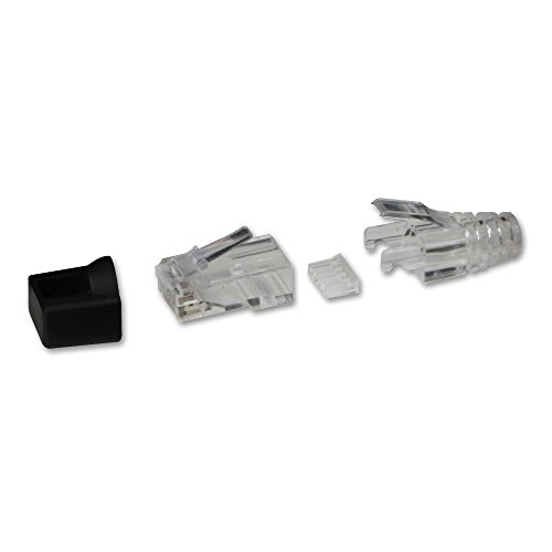 LINDY RJ-45 Male Connector, 8 Pin UTP CAT6, 10 stuks
