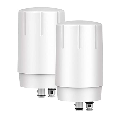 GLACIER FRESH Water Filter Faucet Replacement, Replacement for Brita 36311 On Tap Water Filter, Compatible with FR-200, FF-100 and All Brita Tap Water Filter Systems (Pack of 2)