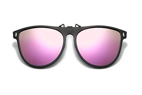 Polarizadas Clips de Gafas de Sol Flip up Espejo Hombre Mujer Gafas de conducción nocturna,polarizada fotocrómica,protectoras UV400