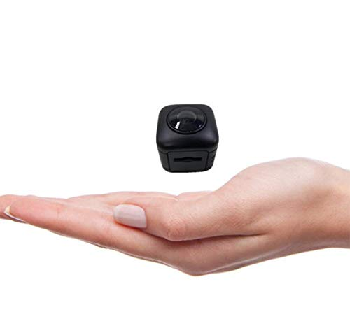 MELKEVDY Mini Camara Espia Oculta WiFi, HD 1080P Camaras De Vigilancia, Sensor Movimiento, Visión Nocturna, Camara Seguridad Camufladas Inalambrica Micro Interior/Exterior Super Gran Angular De 120 °