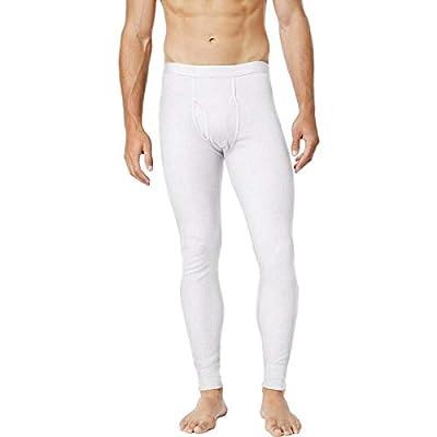 Alfani Mens Waffle Lounge Thermal Pants White L