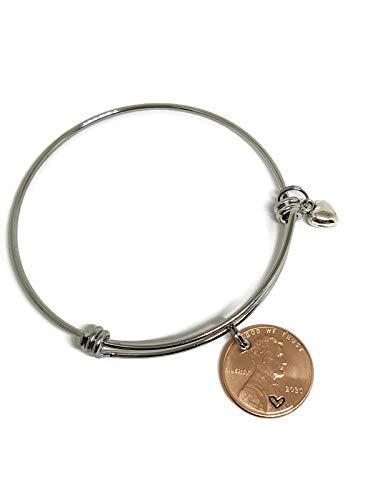 2020 Penny Bracelet: 2020 lucky Penny