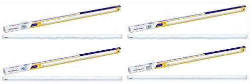 Wipro High Lumen 22-Watt LED Batten (Pack of 4, Cool Day Light)