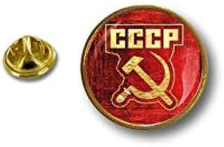 Akacha Spilla Pin pin's Spille spilletta Bandiera Badge Comunista Russa URSS CCCP r2
