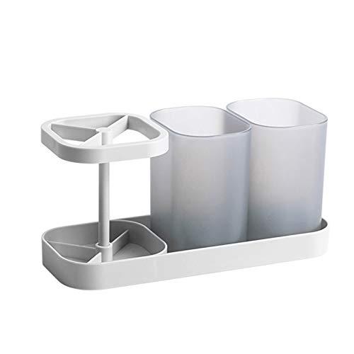Akin Soporte para cepillo de dientes, soporte para cepillo de dientes de baño, soporte para cepillo de dientes eléctrico multifuncional, soporte para cepillo de dientes fácil de almacenar.