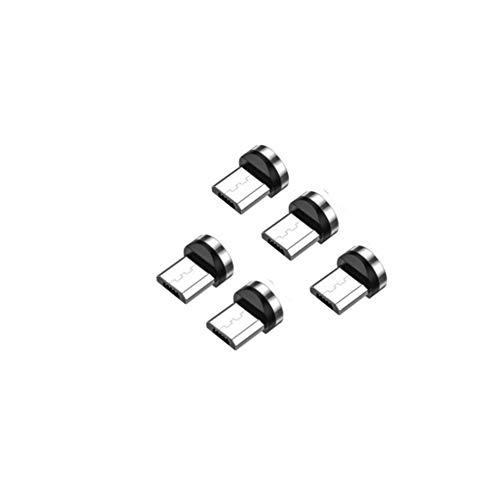 マグネット充電ケーブル用端子 (microUSB 5個)