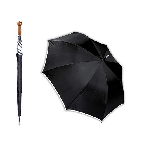 Sicherheitsschirm mit gratis Videokurs | Security Regenschirm für Männer & Frauen | Verbessert Ihre Verteidigungsfähigkeit sofort | Kein langwieriges Training erforderlich | 90cm Lang