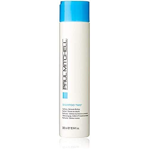 Paul Mitchell Shampoo Two - Clarifying Shampoo reinigt fettiges Haar und fettige Kopfhaut, Tiefenreinigung für die Haare in Salon-Qualität, 300 ml