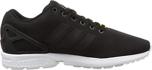 adidas Originals ZX Flux, Unisex-Erwachsene Low-top Sneakers, Schwarz (Core Black/Core Black/White), 46 EU (11 Unisex-Erwachsene UK)
