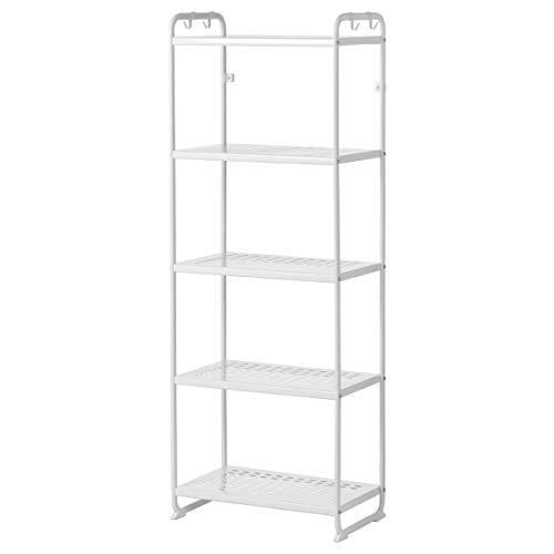 IKEA MULIG - Estantería (58 x 34 x 162 cm), color blanco
