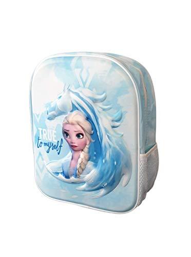 Mochila Infantil 3D Frozen   Mochilas Escolares para Niñas y Niños de 3 Años   Material Escolar Vuelta al Cole de Frozen