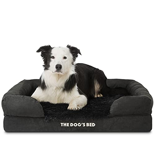 The Dog's Bed Premium Plush Orthopedic Memory Foam Waterproof Dog Bed