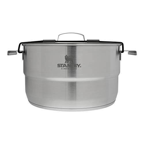 Stanley Even Heat Camp Pro Cookset, 11-Piece Camping Cookware Set with Stainless Steel Pots and...