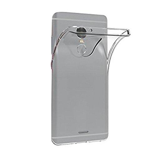 TBOC® Transparent Gel TPU Hülle für Alcatel 3C 5026A 5026D (6.0 Zoll) Superdünn Flexibel Silikonhülle