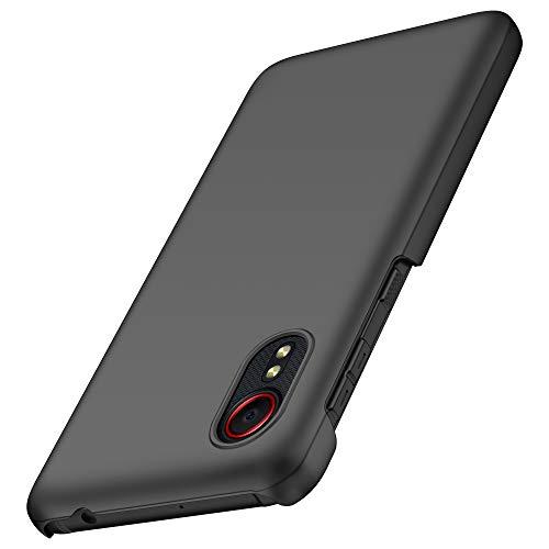 anccer Samsung Galaxy Xcover 5 Hülle, [Serie Matte] Elastische Schockabsorption und Ultra Thin Design für Samsung Galaxy Xcover 5 (Schwarzes)