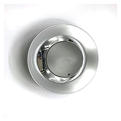 Yongyong MeiMei Store 4 PCS / 8E0601165 8E0 601 165 Logo DE Cubierto DE Cubiertas DE LA Rueda DE LA Rueda para A4 A5 A6 A8 Insignia de Coche 8E0601165 8E0 601 165
