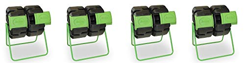 Sale!! FCMP Outdoor Dual Body Tumbling Composter by HOTFROG (4-(Pack))