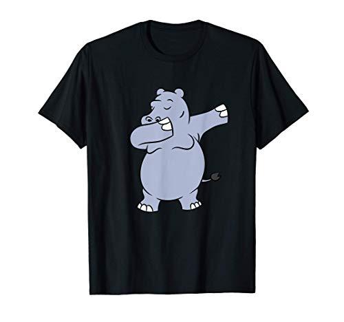 Bailando Hipopótamo Lindo Hipopótamo Bailarín Camiseta