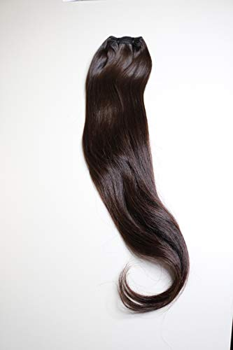 22in Straight Human Hair Bundles Virgin Remy Hair by Hair Blessings LLC 100% Indian Hair –– Unprocessed and Chemical Free with Intact Cuticle – With Complementary Hair Extension Organizer and Hanger