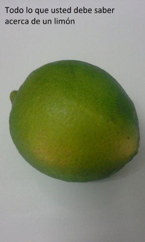 Había una vez un limón Literal Nombrado Lanza