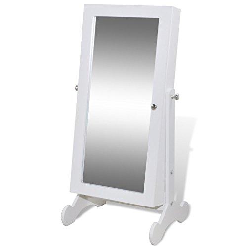 Armario Espejo Joyero con Luz LED Color Blanco