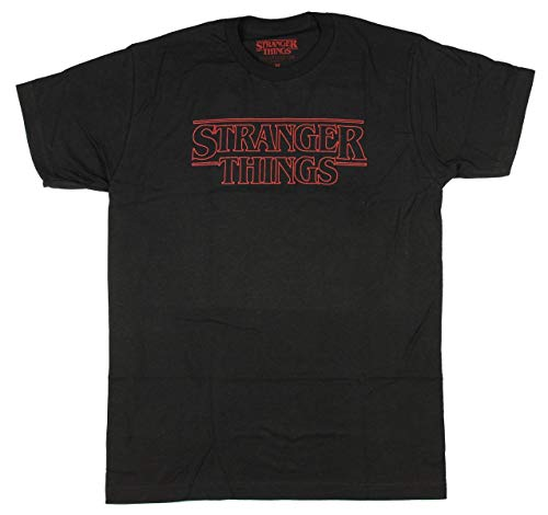 Stranger Things Official Television Series Men's Black T-Shi