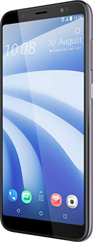 HTC U12 Life Smartphone (15,24 cm (6 Zoll) 18:9 LTPS Display, 64 GB interner Speicher und 4 GB RAM, Dual LED-Blitz, Dual-SIM, Frontblitz, Android 8.1) Twilight Purple