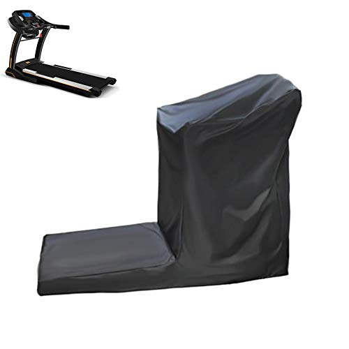Treadmill Cover Running Machine Protective Cover with Zipper for Outdoor or Indoor UCARE Waterproof Home Gym Treadmill Cover Black (L 81 * 37 * 66.9in)