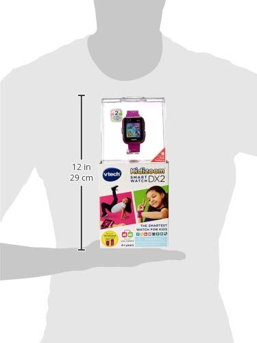 VTech KidiZoom Smartwatch DX2 Special Edition Floral Birds with Bonus Vivid Violet Wristband, Great Gift For Kids, Toddlers, Toy for Boys and Girls, Ages 4, 5, 6, 7, 8, 9 5