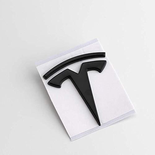 Switch Auto-Heck-Aufkleber-Dekoration-Aufkleber Blatt Platte Labeltesla Modelx Metall Auto-Aufkleber-Auto-Aufkleber-Körper-Aufkleber,Schwarz