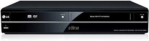 LG RCT699H - Grabador de DVD con reproductor de vídeo VHS (Dolby Digital), negro
