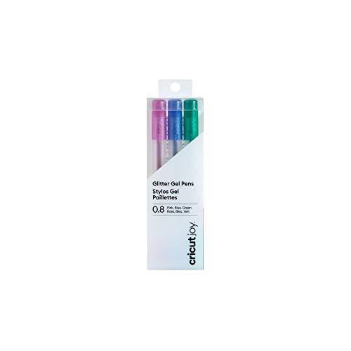 Cricut Joy Glitter Gel Pens (Pink, Blue, Green)