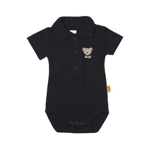 Steiff - Body para bebé, Talla 62 - Talla Alemana, Color Azul Oscuro