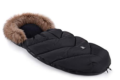 Fußsack Schlafsack Cottonmoose Footmuff Moose Yukon Zum Kinderwagen Sportwagen Autositz Black Baby