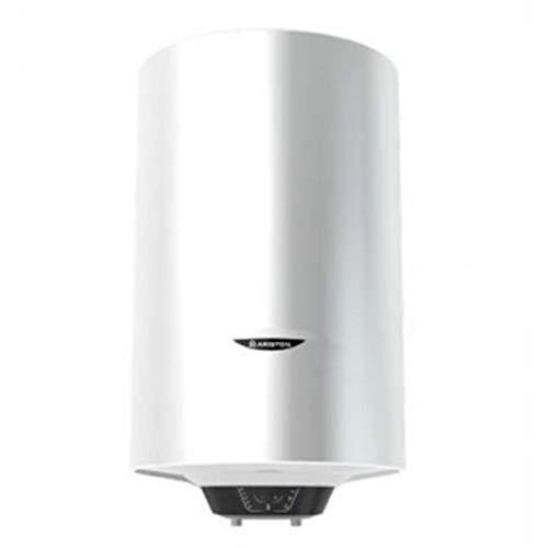 Termo eléctrico, modelo Pro1 Eco Dry Multis 30 Slim EU 1600 W (2x800) de instalación multiposición, display de leds, función Eco Evo, doble resistencia envainada (Referencia: Ariston 3700587)