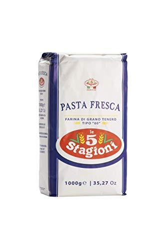 Le 5 Stagioni - Farine de Blé Type 00 - Pâtes Fraîches - Produit 100% Italien - I KG