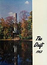 THE 1963 DRIFT -- YEARBOOK FOR BUTLER UNIVERSITY IN INDIANAPOLIS, INDIANA