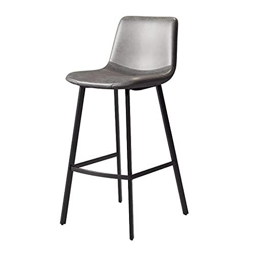 LZQHGJ WENYA Taburetes de Bars de barset sillas con Espalda,