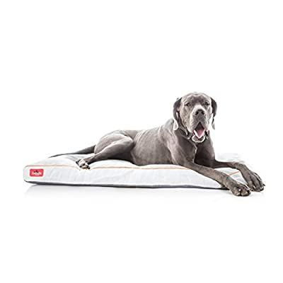 Lightweight Orthopedic Memory Foam Washable Cover Dog Bed