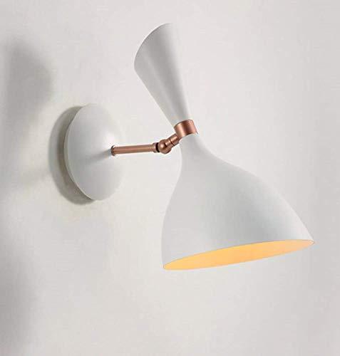 Nordic Macaron Kinderzimmer Wandleuchte Kreative Persönlichkeit Schlafzimmer Nachttischlampe Moderne minimalistische Dekoration für Ess- / Paletten- / Balkonbeleuchtung, 30X30cm, Weiß