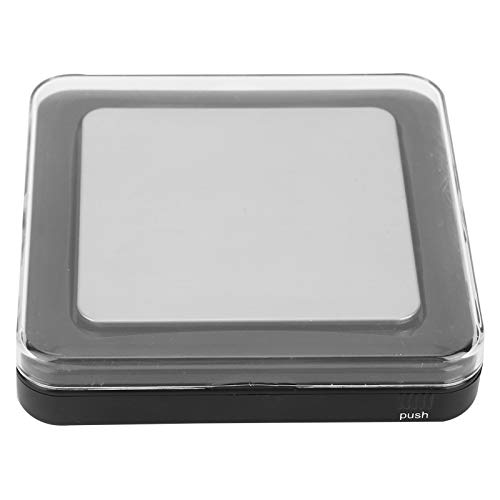 Mini elektronische Gewichtung Digitalwaage Batterieleistung Kunststoff Edelstahl LCD-Bildschirm Anzeige zum Messen von Nahrungskräutern Gewürze für Zuhause und Reisen