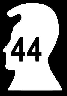 Magnum Pi King Kamehameha Head 44 Decal Sticker for Car Bumper Window Laptop Wall
